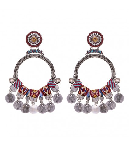 Indian Guirlande, Georgia Earrings
