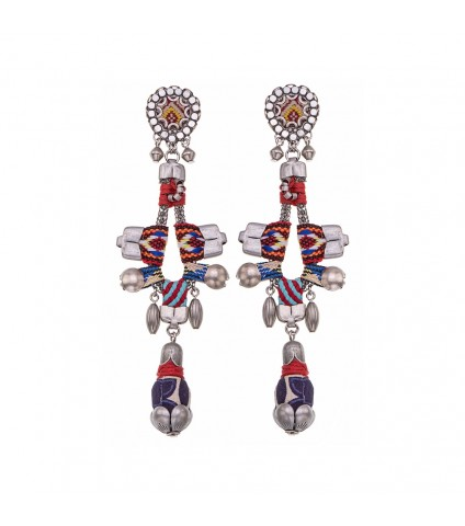 Indian Guirlande, Graciala Earrings