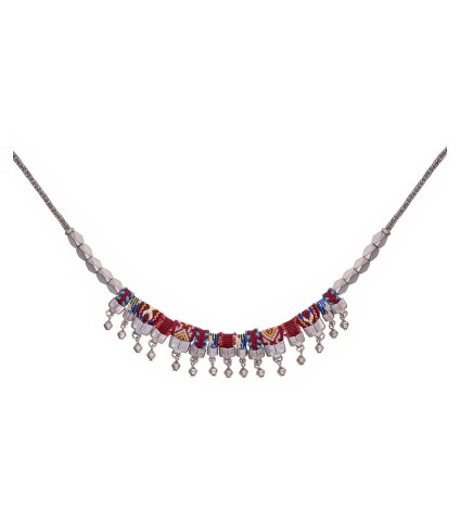 Indian Guirlande, Violetta Necklace