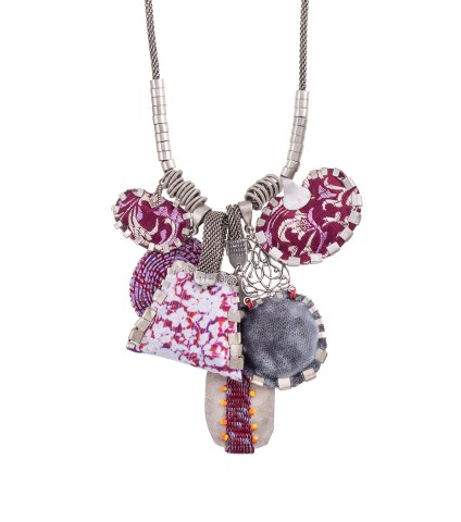 Deep Purple, Madelyn Necklace