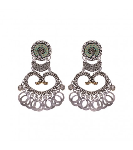 Metal Light, Anita Earrings