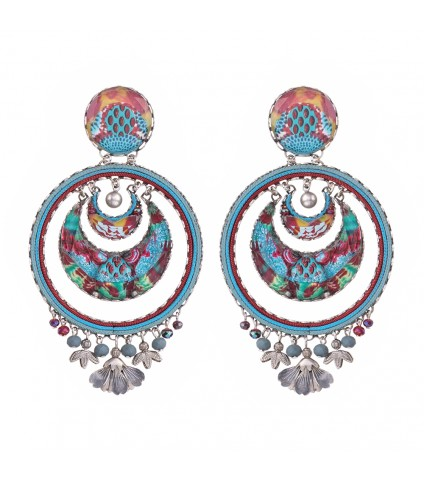Blue Castle, Camila Earrings