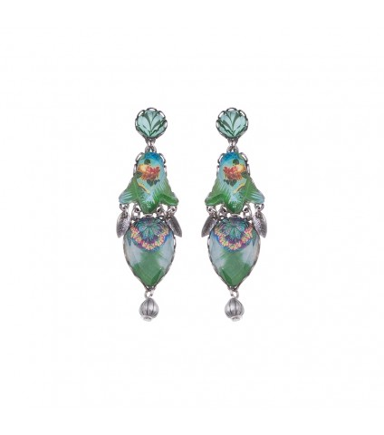 Sweet Leaf, Mariana Earrings