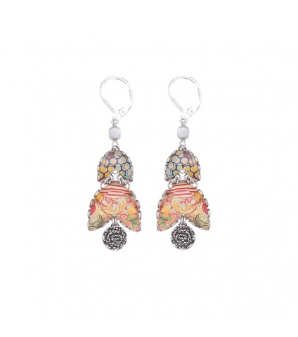 Coral Cave, Suzane Earrings
