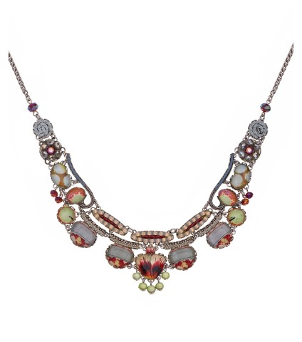 Bloom, Amber Necklace
