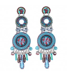 Coral Cave Reut Earrings