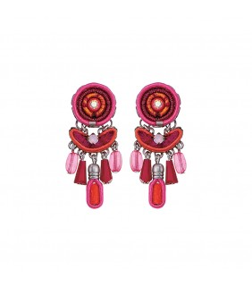 Gaillardia Petra Earrings