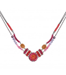Gaillardia Keesha Necklace