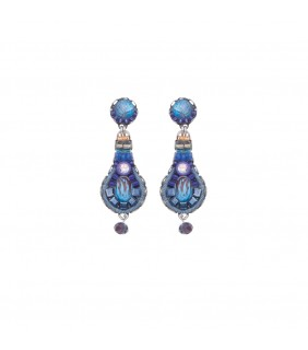 Sapphire Rain, Royale Earrings