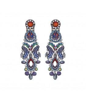 Coral Reef, Abigail Earrings