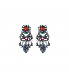 Coral Reef, Harper Earrings