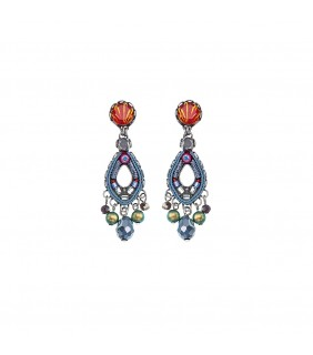 Coral Reef, Madison Earrings