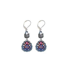 Coral Reef, Victoria Earrings