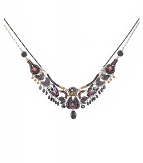Moon Jet, Chandana Necklace