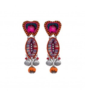 Crimson Voyage, Amanda Earrings
