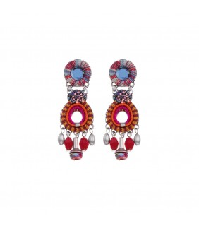 Crimson Voyage, Laura Earrings