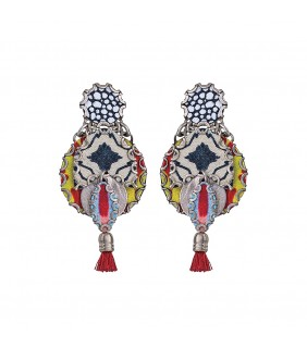 Kaleidoscope Mercury Earrings