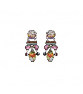 Unforgettable Fire, Rebeca Earrings