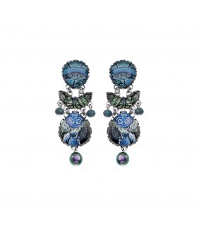 Blue Planet, Zahava Earrings