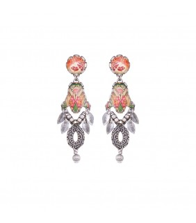 Coral Cave, Bahia Earrings