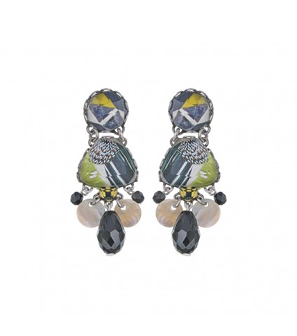 Midnight Riva Earrings