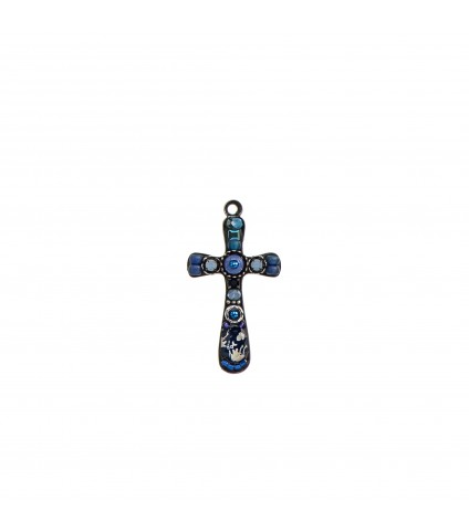 Omega Cross Necklace