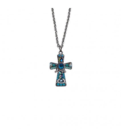 Ayala Bar Cross Necklace S