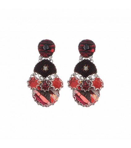 Strawberry Fields Jazztet Earrings