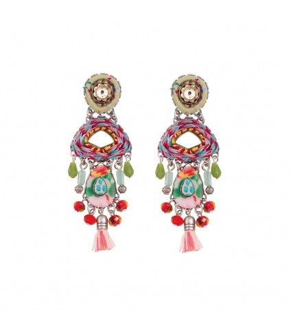 Florence Vino Earrings
