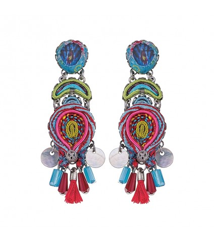Constance Collage Earrings