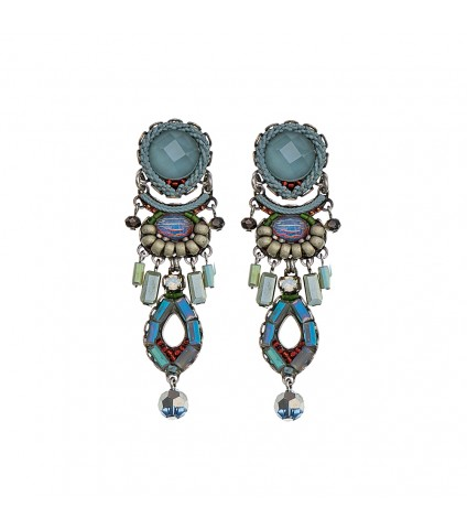 Blue Skies, Brooklyn Earrings