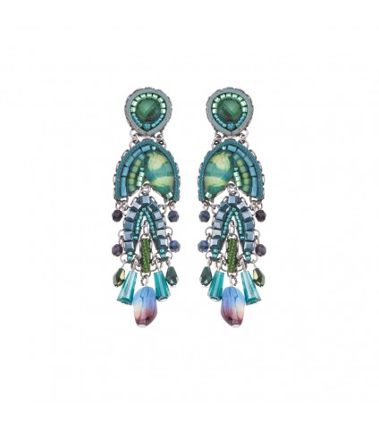 Green River, Lotus Earrings