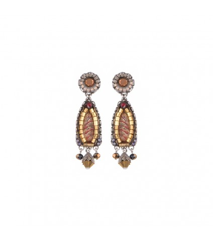 Golden Fog, Rona Earrings