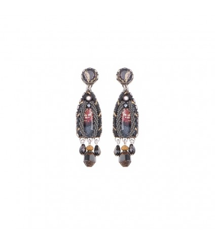 Moon Jet, Tova Earrings