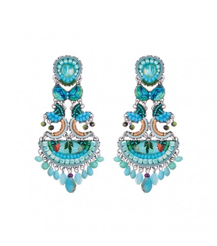 Clear Water, Corin Earrings
