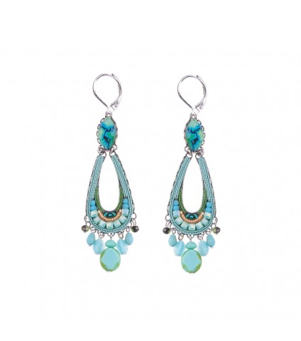 Clear Water, Cleo Earrings