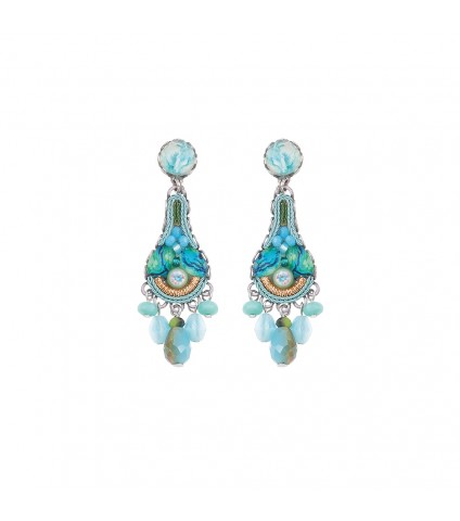 Clear Water, Haze Earrings