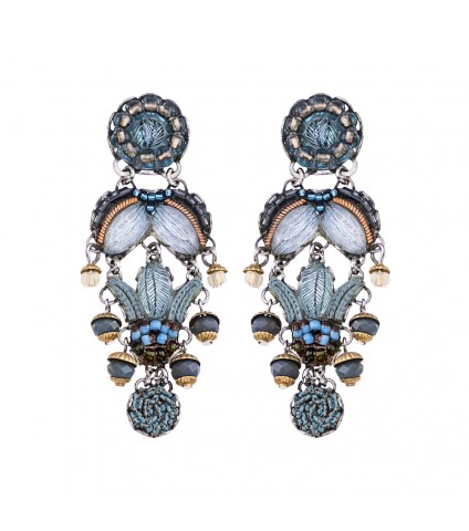 Blue Velvet, Mikeno Earrings