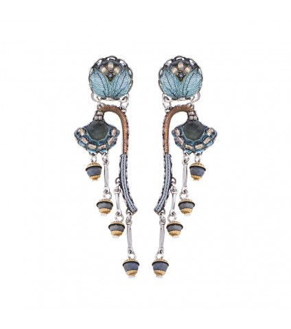 Blue Velvet, Kilimangaro Earrings
