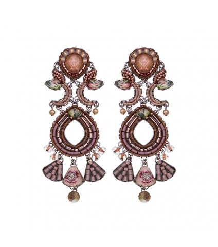 Royal Gold, Cinnamon Earrings