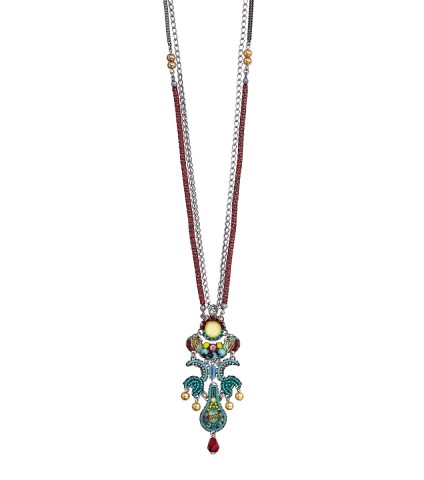 Turquoise Crown, Zoe Necklace