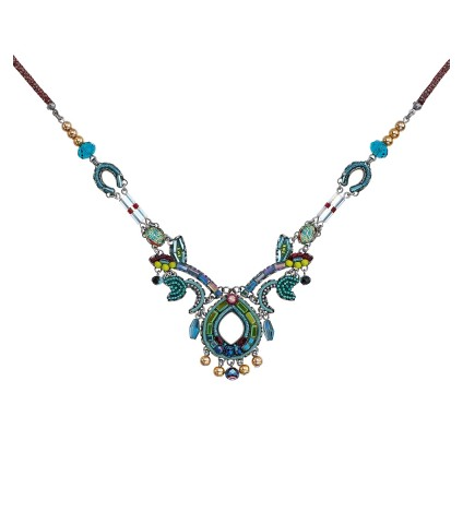 Turquoise Crown, Navaeh Necklace