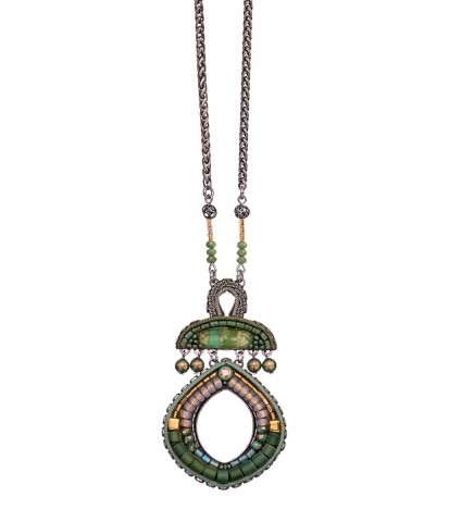 Green Moonlight, Louisa Necklace