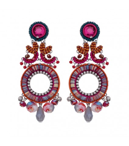 Crimson Voyage, Grace Earrings