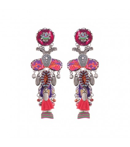 Ruby Tuesday, Embra Earrings