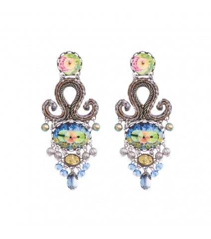 Fiesta Green, Dorothea Earrings