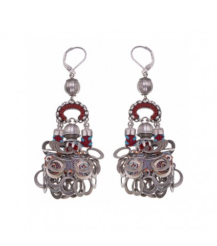 Indian Guirlande, Isabella Earrings