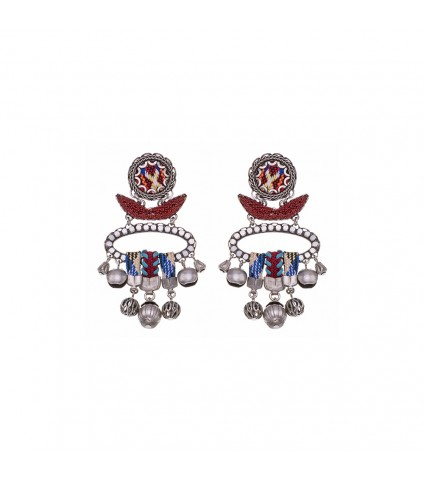 Indian Guirlande, Dorothea Earrings