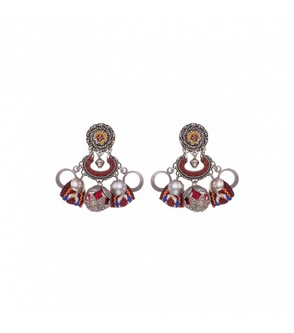 Indian Guirlande, Agalha Earrings