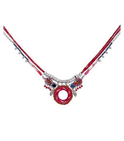 Crimson Voyage, Adrian Necklace